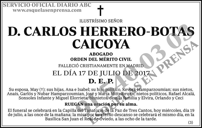 Carlos Herrero-Botas Caicoya